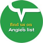 Find us on Angies List Logo