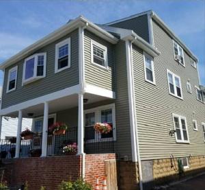 Medford House New Siding