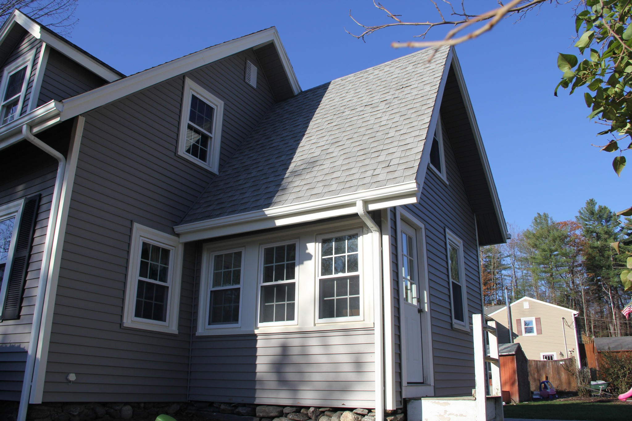 Bolton MA Vinyl Siding Replacement